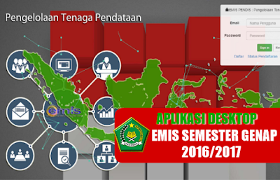 aplikasi desktop emis genap 2016-2017