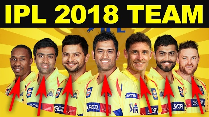 IPL 2018: chennai super kings players list 2018