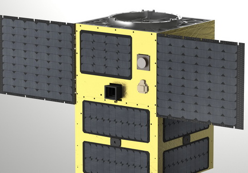 Tinuku Astroscale builds IDEA OSG 1 and ELSA-D satellites for space cleanup
