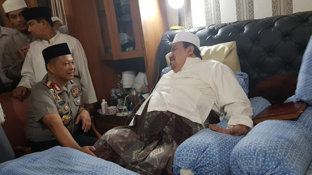 Habib Ali Minta Kapolri Jaga Umat Islam