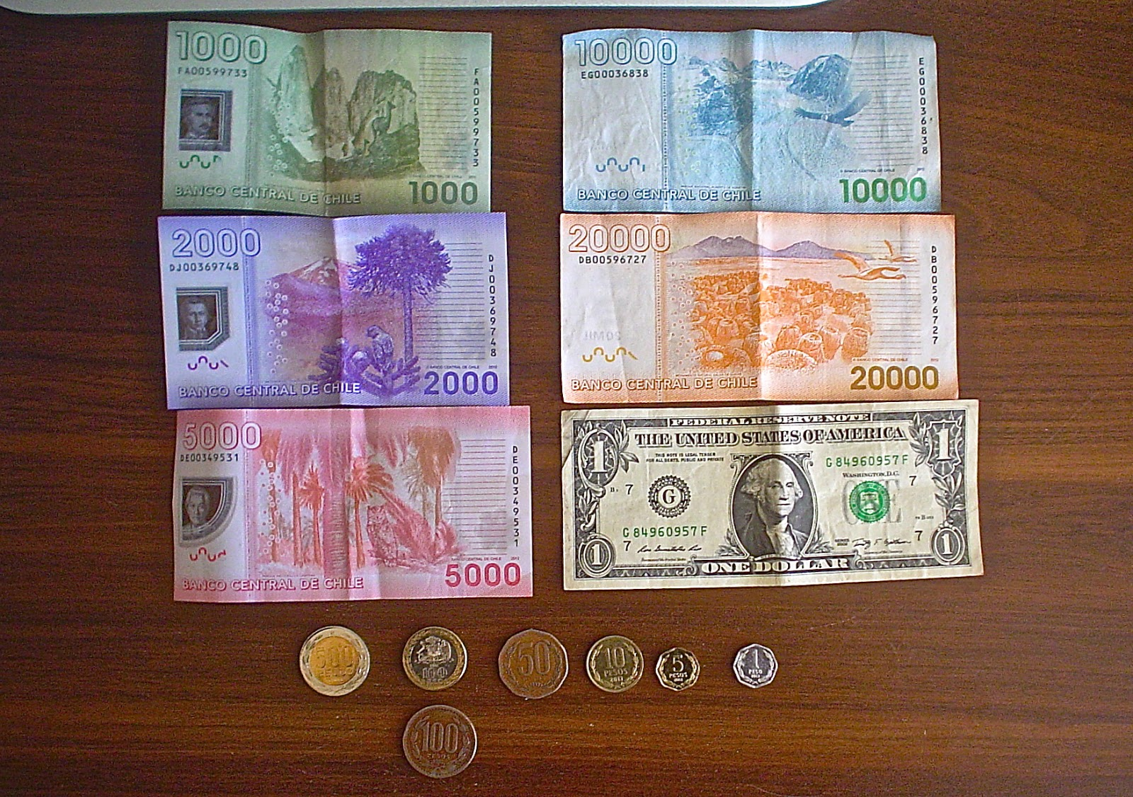Notice How The Bills Are Diffe Lengths In Addition To Being Colors I Think My Favorite Is Purple 2 000 Note About 3 70 Us Dollars