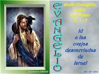 Resultado de imagen para En aquel tiempo, Jesús, llamando a sus doce discípulos, les dio autoridad para expulsar espíritus