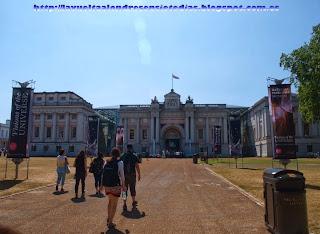 Fachada principal del National Maritime Museum