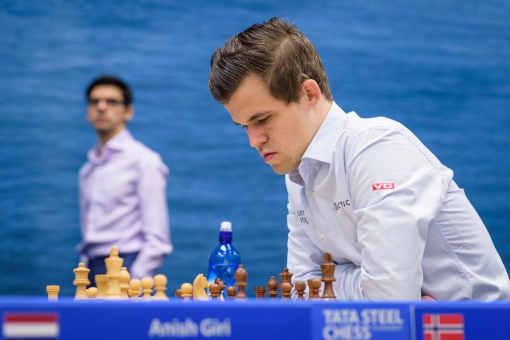 Grandissime favori, le champion du monde d'échecs Magnus Carlsen tentera de franchir la barre des 2900 points Elo - Photo © Alina L'Ami