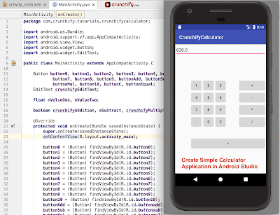 Tugas Mobile Computing - Rancangan Proses Kalkulator