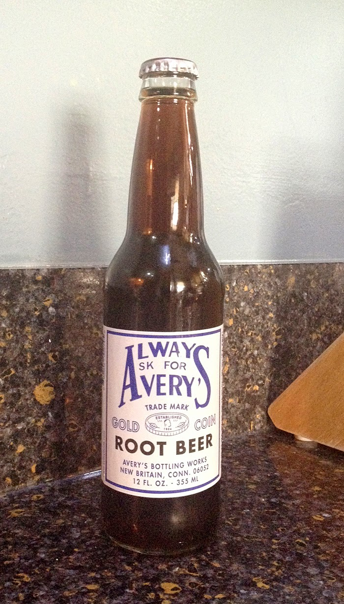 Avery's Gold Coin Root Beer