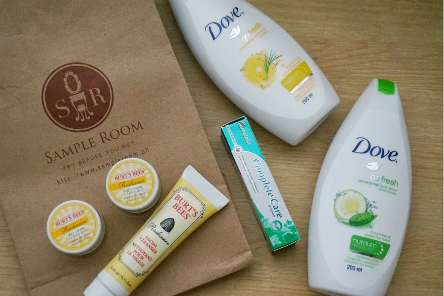 Himalaya Herbals, Dove Body Wash, Burt's Bees Radiance from Sample Room Ph