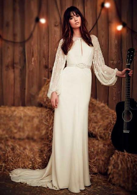 Vestido noiva Country