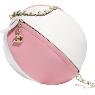 Brilliant Luxury♦Chanel Beach Ball Handbag #pink