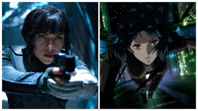 Motoko Kusanagi Ghost in the Shell