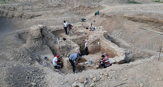 Karakhanid tomb unearthed in Kyrgyzstan