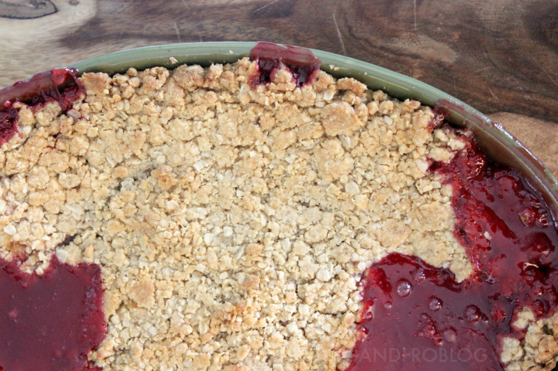 The Perfect Strawberry Rhubarb Crisp