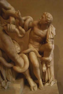 Laocoon et ses fils, Méduse, Sculptures,