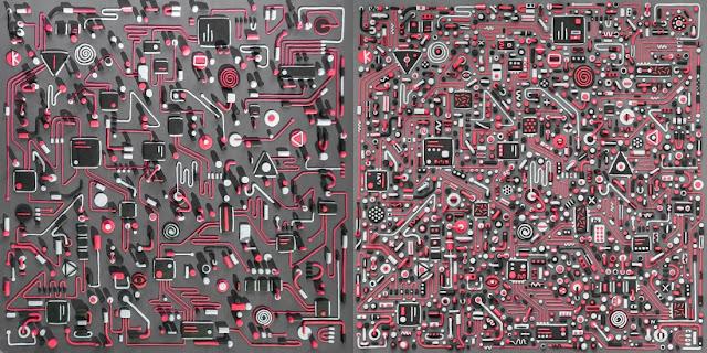 Tim-Easley-diseño-con-plastilina-portada-álbum-Modified-Man