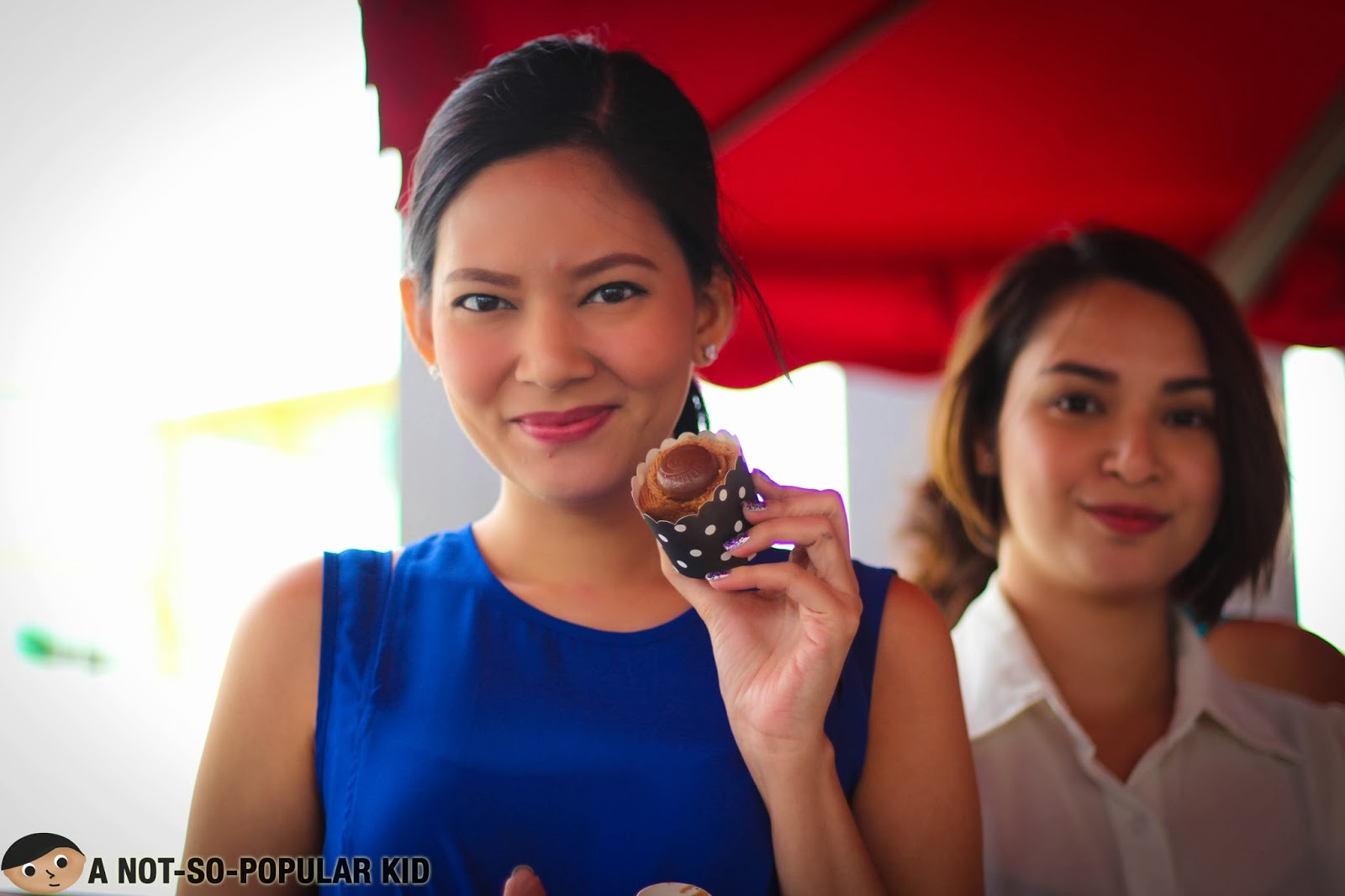 Chynna Ortaleza showing her love for her best friends' Cookie Butter Nutella