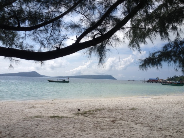 a sunny day on Koh Rong Island, Cambodia