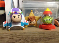 Disney Tsum Tsum Series 3 Mystery Packs Blind Bags Jakks Toy Story