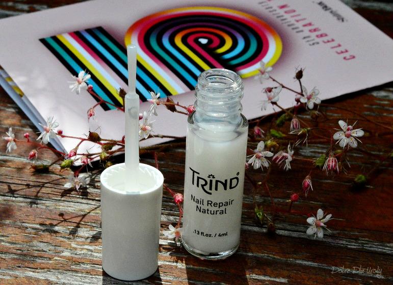 Celebration Time by ShinyBox - Trind Nail Repair Natural wzmacniająca odżywka