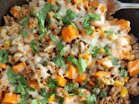 Ground Turkey Sweet Potato Skìllet
