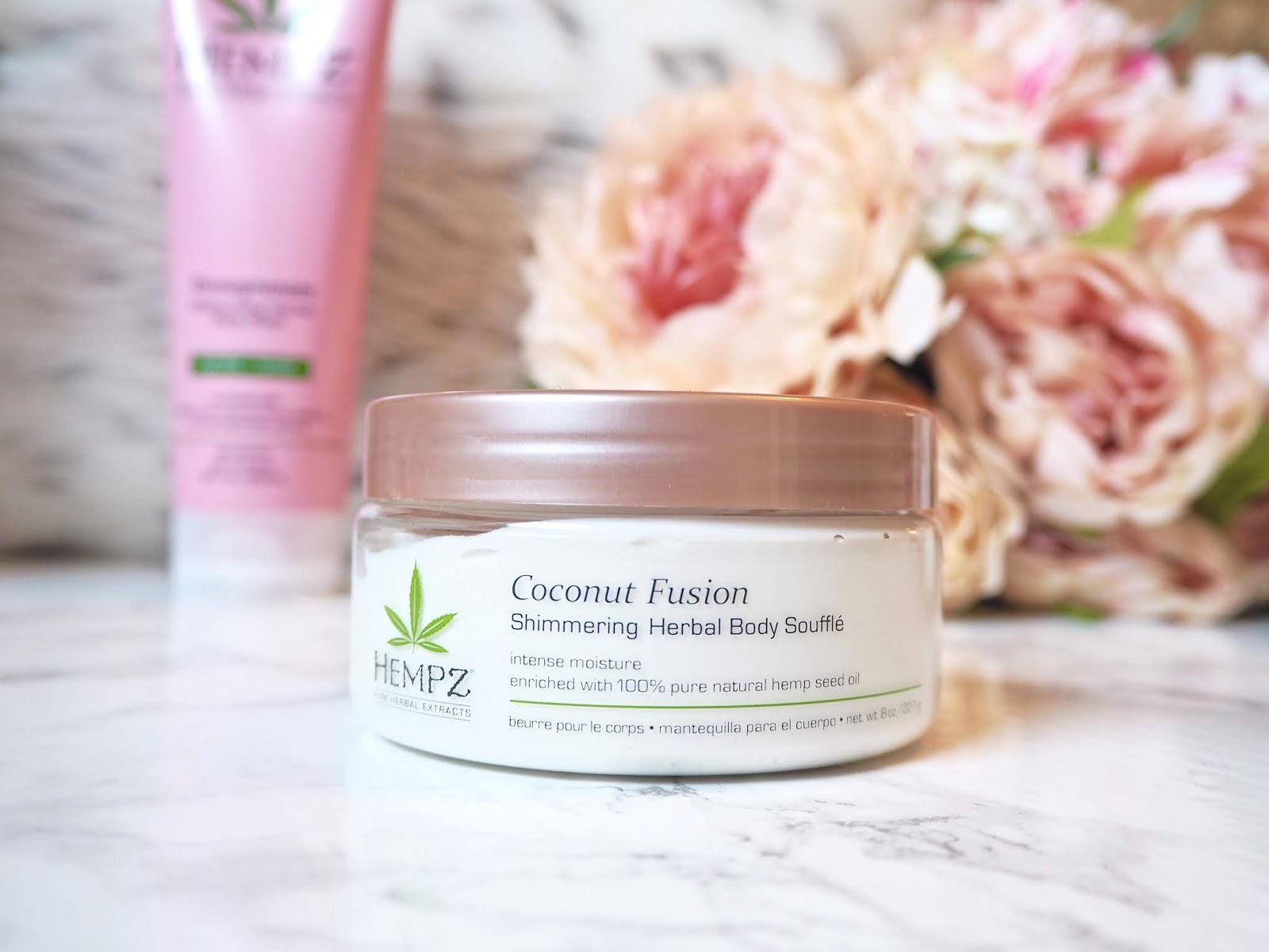 Hempz Skincare Range Coconut Fusion