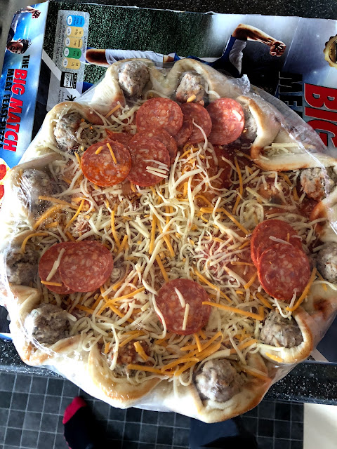 Foodstuff Finds World Cup Big Match Meat Feast Pizza Tesco
