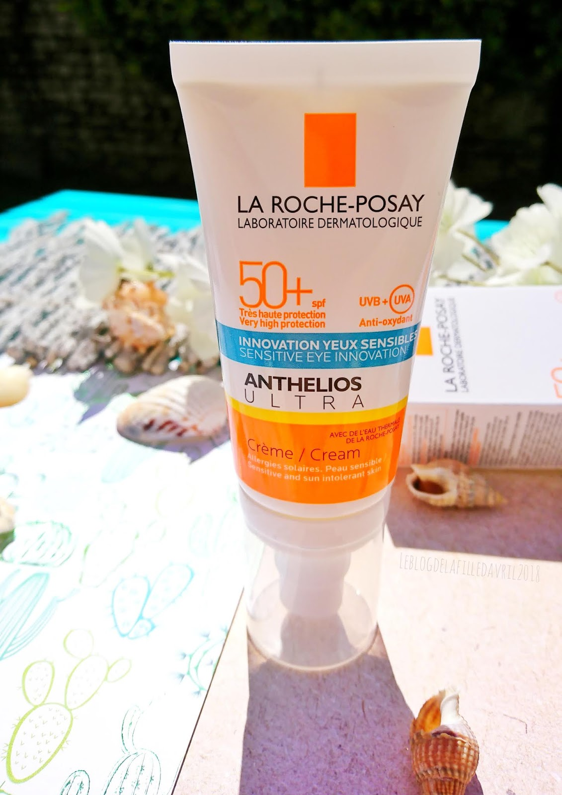 Roche Très Solaire Protection La Crème Ultra Haute Posay Anthelios CodxeB