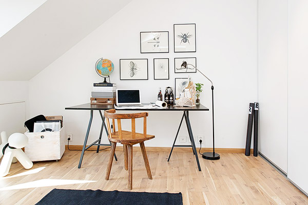 Loft su dois la d coration scandinave blog d co for Deco bureau scandinave