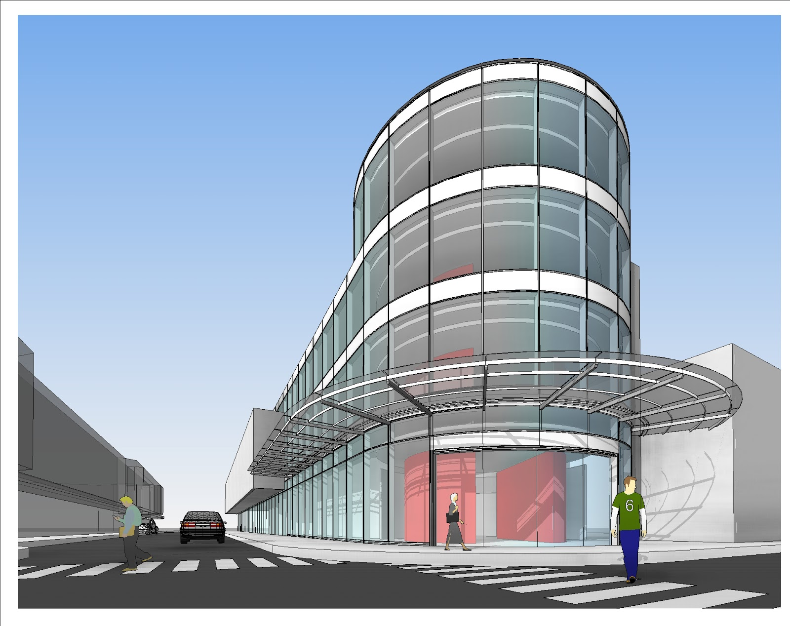 Curved glass curtain wall revit curtain menzilperde net for Curved glass wall