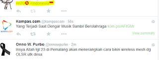 Hash tag #ri70 dan Hash tag #Indonesia pada twitter meriahkan kemerdekaan indonesia yang ke 70