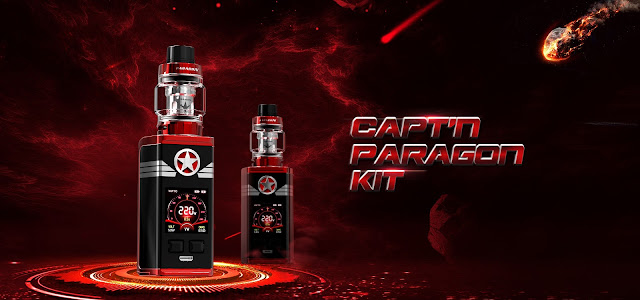 VAPTIO / Capt'n Paragon Kit / revisión en español
