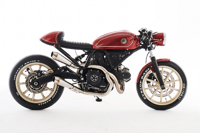Ducati Scrambler 400 By Eastern Spirit Garage Hell Kustom