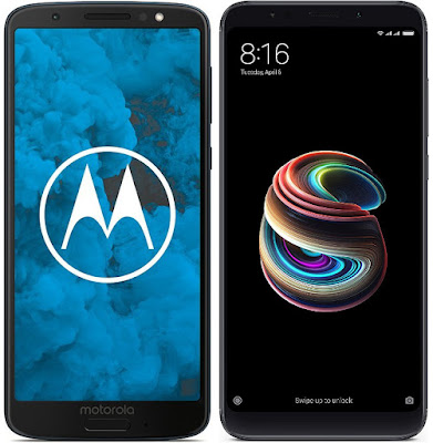 Motorola Moto G6 vs Xiaomi Redmi 5 Plus 64G
