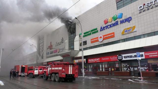 """البوليساريو تعزي روسيا في ضحايا حريق """"زيمنايا فيشنيا"""""""