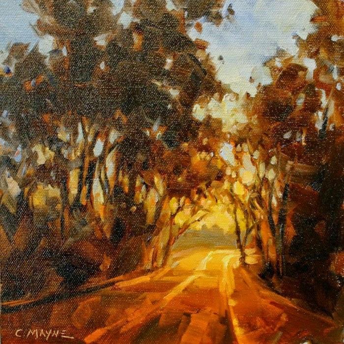 Картины масляными красками. Carole Mayne