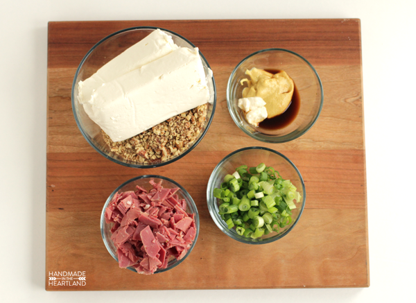 Corned Beef Leprechaun Cheeseball Recipe