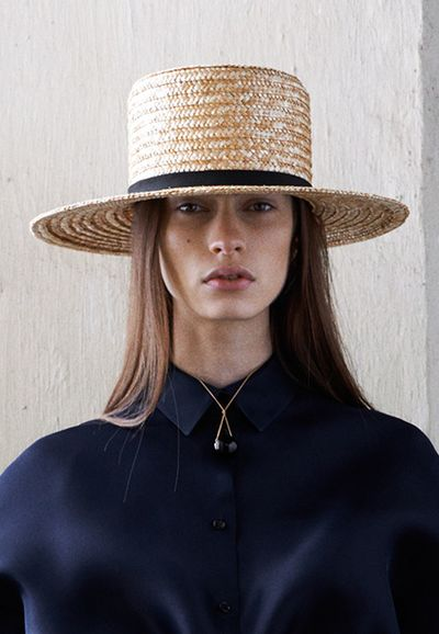Style Inspiration: The Straw Hat