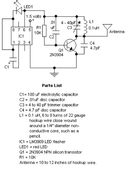 tracking fm transmitter schematics diy circuit rh avecircuits blogspot com Transmitter Circuit Schematics Homing Transmitter Schematic