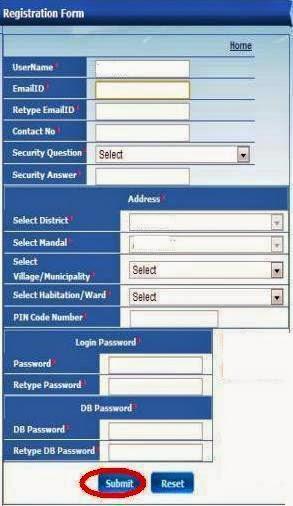 Child info Registration form