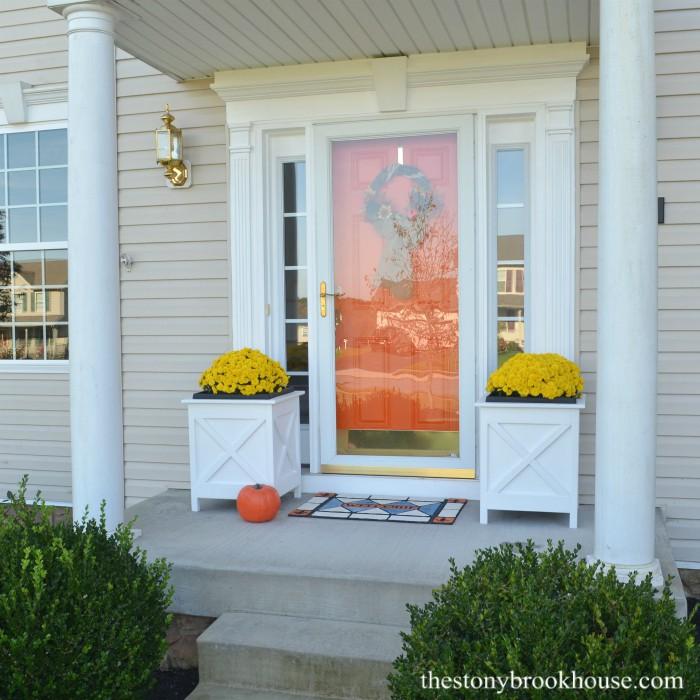 DIY Porch Planters