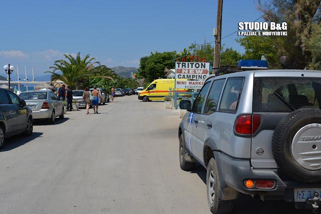 Νεκρός άνδρας στην παραλία Πλάκας Δρεπάνου στο Ναύπλιο