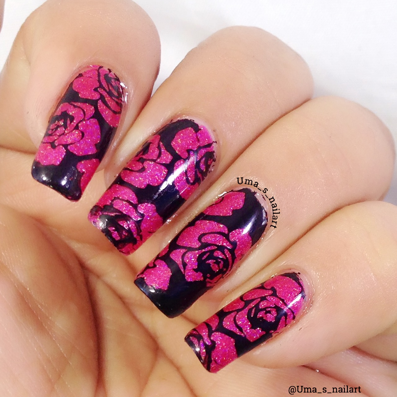 Uma\'s Nail Art: Nicole Diary Stamping Plate Review..