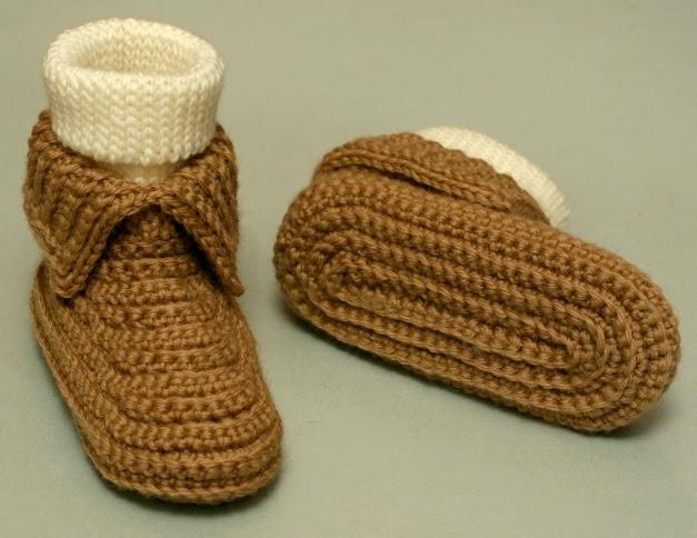 Crochet For Free Sockassins Toddler