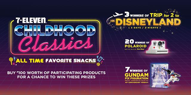 7-Eleven Childhood Classics Promo