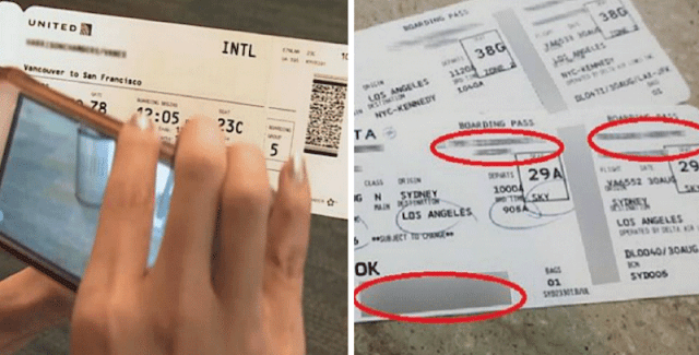 Buat Kamu yang Suka Traveling pakai Pesawat, Jangan Lagi Upload Foto Boarding Pass Kamu ke Sosial Media! Ini Alasannya!
