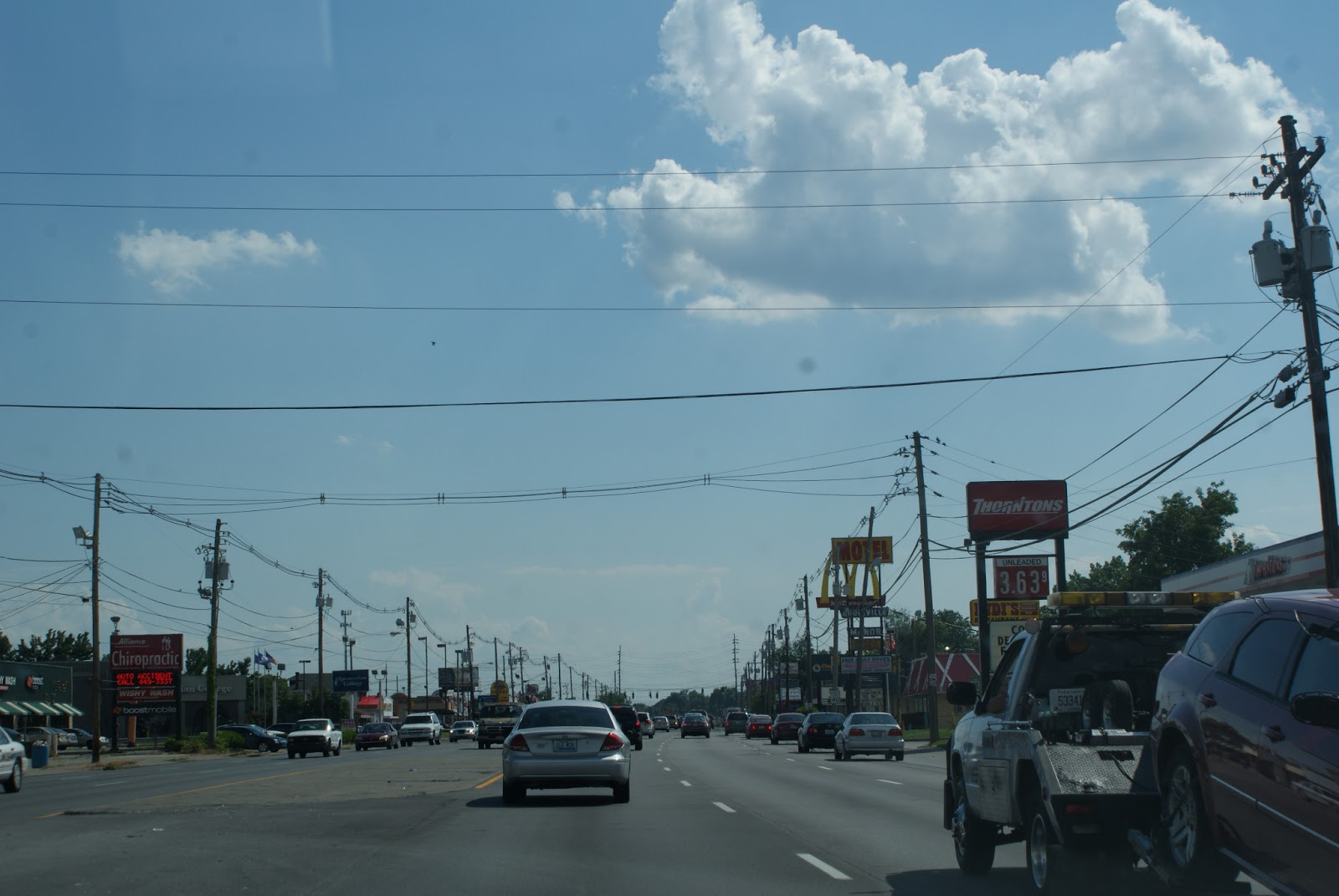 """Car Dealerships Louisville Ky >> Stationary Nomad: Dixie Highway (Part I in the series """"My Louisville"""")"""