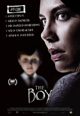 The Boy 2016 DVD R1 NTSC Latino