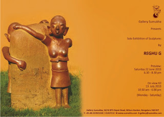 Exhibition of Sculptures by Reghu G