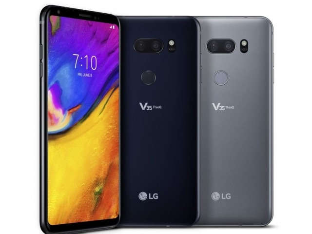 LG V35 ThinQ with Snapdragon 845, 16MP dual rear cameras announced