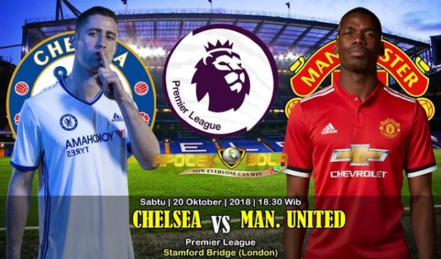 Prediksi Chelsea vs Manchester United 20 Oktober 2018