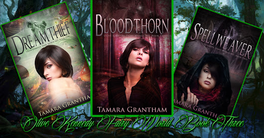 BOOK RELEASE: Bloodthorn, Olive Kennedy Fairy World MD Book 3 by Tamara Grantham
